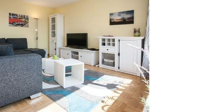 Photo for Great apartment with communal pool and sauna right on the ski area