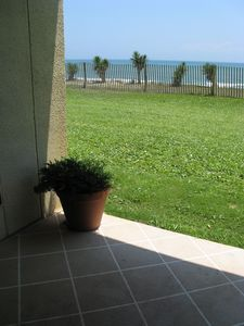 Photo for Beach Front - Ground Floor - Three Bedroom Condo