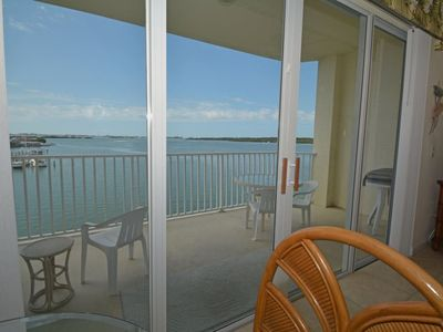 Photo for Bay pines amazing wide water view condo ~ RA133279