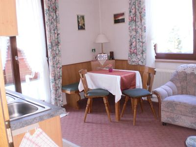 Photo for Apartment No. 2/1 bedroom / shower, WC - Leyrer, Pension