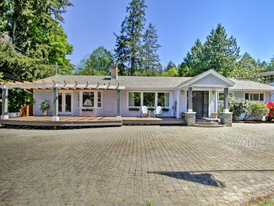 Photo for Beautiful Water-View Puget Sound Home on 1.7 Acres