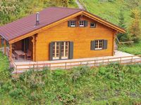 This is a really nice cosy chalet with spectacular views of the valley high abov ...