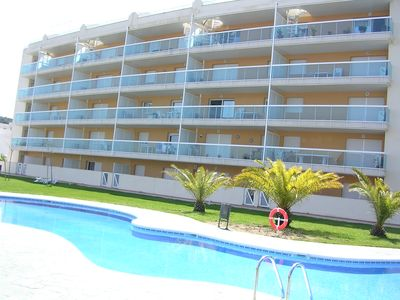 Photo for QUIET APARTMENT WITH AIR CONDITIONING, 30Mt2 TERRACE, GARDEN, POOLS