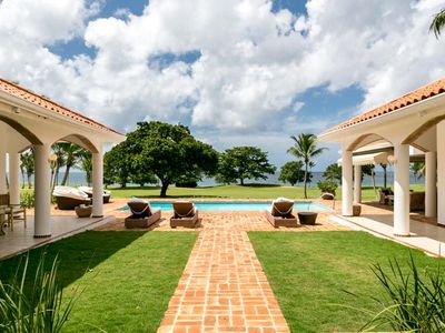 Photo for Ocean View, Pool & Heated Jacuzzi, Full Staff Incl. Cook, AC, Free Wifi