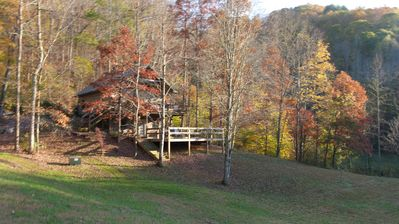 Photo for T Lea Farm: Your serene Luxury *73-Acre Vacation Retreat great for bikers too!