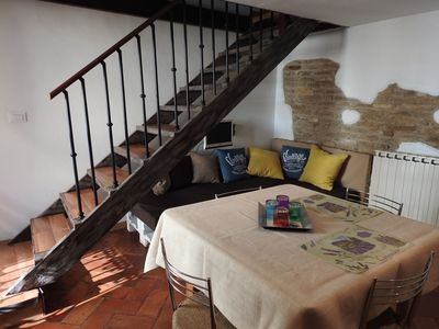 Photo for Young and romantic attic in the center of Ravenna 2 beds, pedestrian area