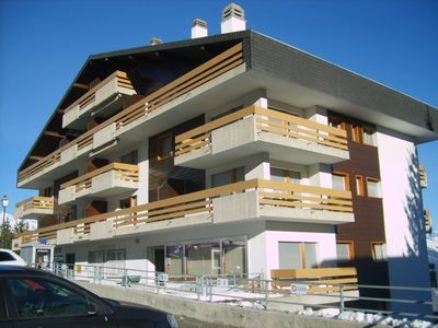 Photo for Beautiful 3.5 room apartment with a unique location for skiing and hiking holidays