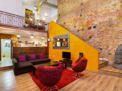 Photo for Stylish 2-bedroom loft located in the heart of Alfama