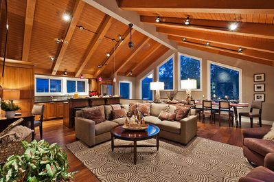 Great Room with Panoramic views of Deer Valley and Park City resorts
