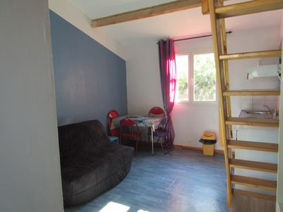 Photo for Studio 4 pers. in St-Cyprien between village and beaches on coteradieux site Wifi
