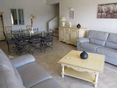 Photo for Cosy apartment for 8 people with private pool, WIFI, TV, pets allowed and parking