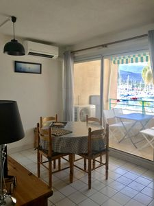 Photo for T2 apartment cabin facing the marina air-conditioned