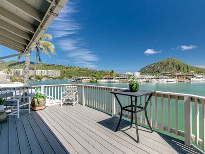 Photo for Ocean Front Home | Private Dock | Pool Access