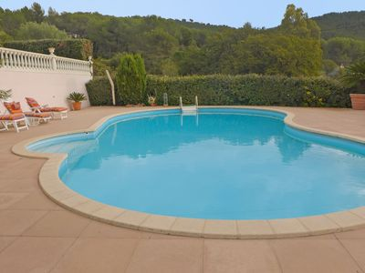 Photo for Beautiful private villa for 8 people with private pool, WIFI, TV and parking