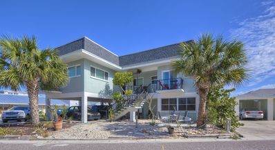 Photo for Redington Shores gulf view home only steps to gorgeous white sand beach.