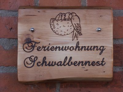 Photo for Apartment Schwalbennest 40sqm in country house-loving + dog near Plau am See
