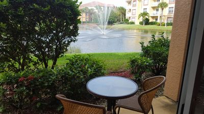 Photo for Luxury Furnished Condo With Beautiful Lake And Water Fountain View