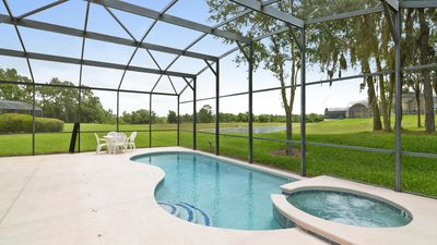 Photo for Stay in Emerald Palace - a 6 bed family pool home in Emerald Island near Disney!