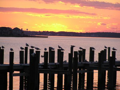 Enjoy a lovely sunset from walkout patio