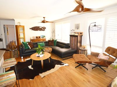 Photo for Salty Seas, a quiet location, close to the water + dog friendly