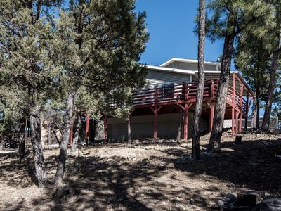 Photo for Cabin near Lincoln National Forest w/ WiFi, Fireplace, Grill, Gameroom & Hot Tub
