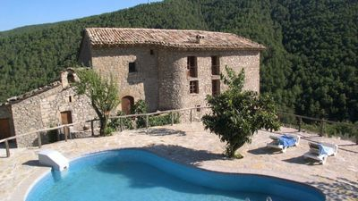 Photo for 7 bedroom Villa, sleeps 14 in Coll de Nargó with Pool and WiFi