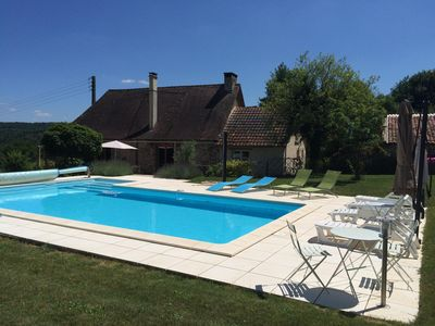 Photo for Farmhouse With Sole Use Of Private, Heated Pool In Peaceful, Rural Location