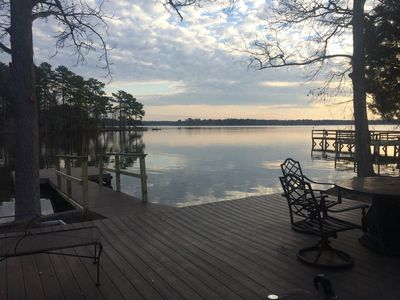 Photo for Charming Cottage On Lake Murray With Large Deck & Dock