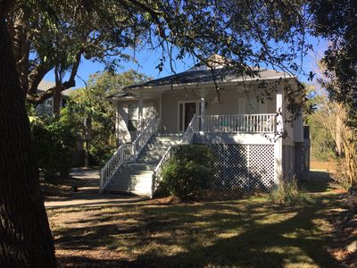 Photo for Beautiful, Private Home! Enjoy the Peace and Quiet.  One block to beach