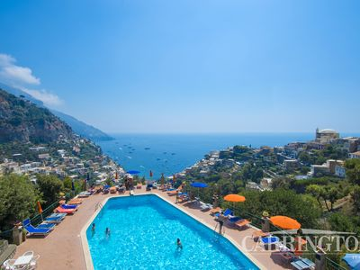 Photo for Breathtaking Sea Views, Parking, and Shared Pool