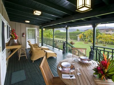 Photo for Charming Historic Cottage at  Hanalei Bay with A/C!