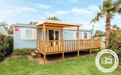 Photo for Camping Domaine les Charmilles **** - Maeva Camping - Mobile Home 5 Rooms 8 People
