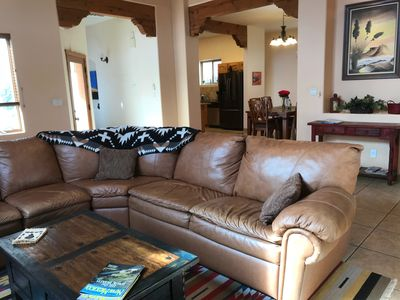 Photo for A Southwest home, full of amenities,  close to Plaza and most attractions