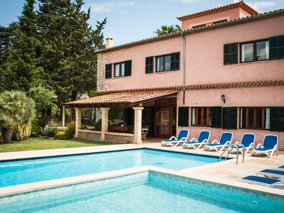 Photo for Large mallorcan villa ideal for families