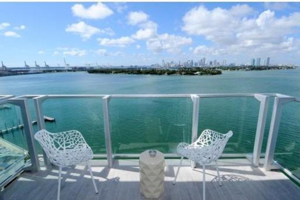 5 Star Mondrian South Beach 2bed 2bath Corner Unit Best Priced Bay Views