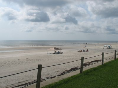 Photo for NEW LISTING! Romantic beachfront getaway with a shared pool,  ocean view, more!