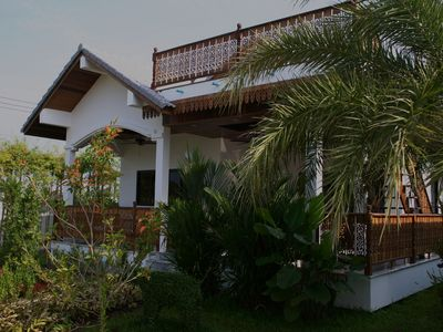 Photo for Top-quality, comfortable villa with large pool and close to pristine beach