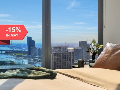 Photo for A Stylish Suite with a Gorgeous View of the Yarra