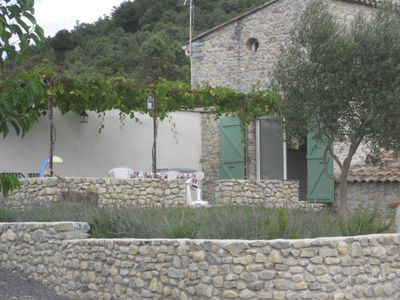 Photo for large cottage in stone farmhouse typical of southern Ardeche