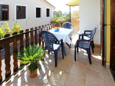 Photo for Two bedroom apartment with terrace Bibinje (Zadar)