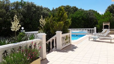 Photo for Villa 4 **** heated pool - holiday home in Gard (South of France)