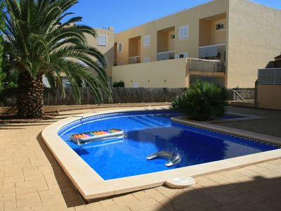 Photo for Apartment With Swimming Pool in Boquer Area, Quiet and Comfortable