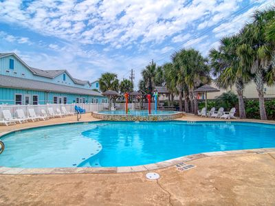 Photo for NEW LISTING! Dog-friendly condo w/ furnished patio & shared pool-close to beach!