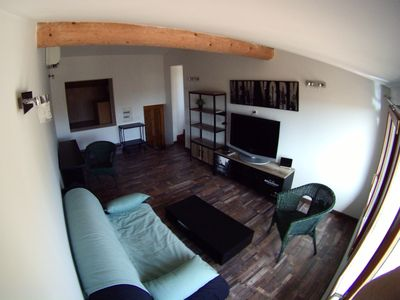 Photo for FURNISHED STUDIO T1 AIX conditioning Seasonal rental