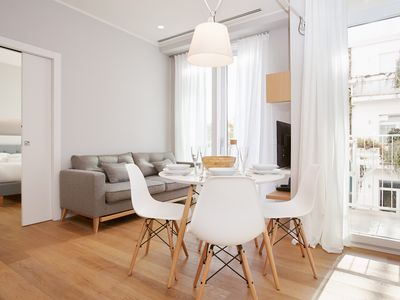 Photo for Modern two-bedroom apartment in a historical building in central Milan