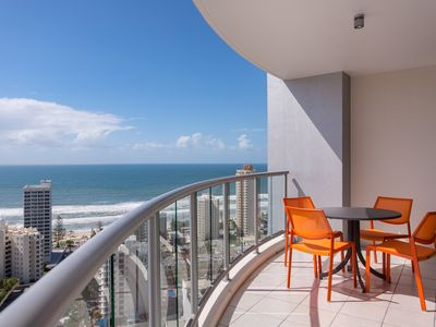 Photo for LUXURY @ CHEVRON TOWERS  25TH FL  2 BRM - BEST IN BUILDING - AMAZING OCEAN VIEWS
