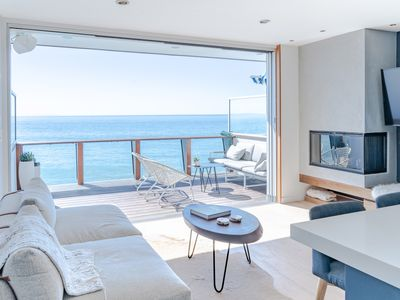 Photo for Couple's Getaway - Private Beach Access in Malibu