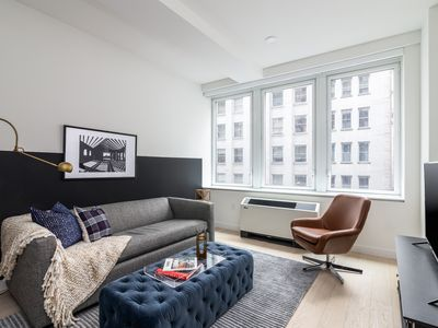Photo for Sonder | Wall Street | Ideal 1BR + Lounge