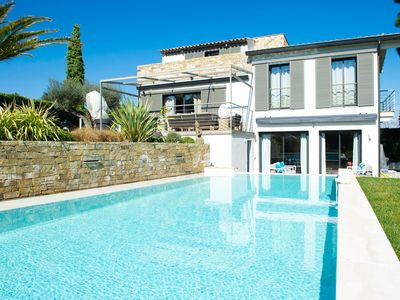 Photo for LUXURY INDEPENDENT VILLA WITH SWIMMING POOL - CENTER OF ST TROPEZ