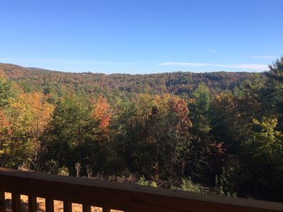 View from back porch